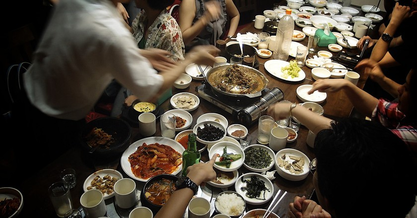 Korean Food | © Yosomono/Flickr