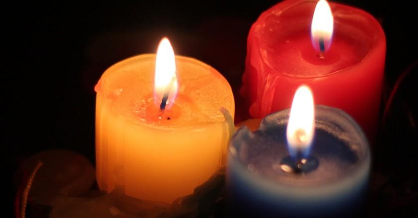 Colombian Christmas candles | © Jonathan Hood / Flickr