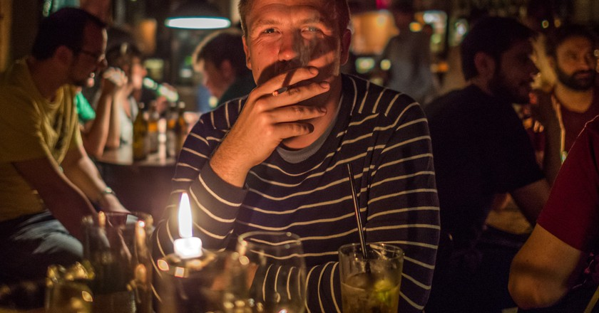 Late at night, in a bar in Berlin|© Øystein Vidnes/flickr