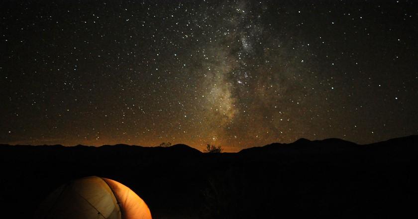 Camping in Death Valley   © Paxson Woelber/Flickr