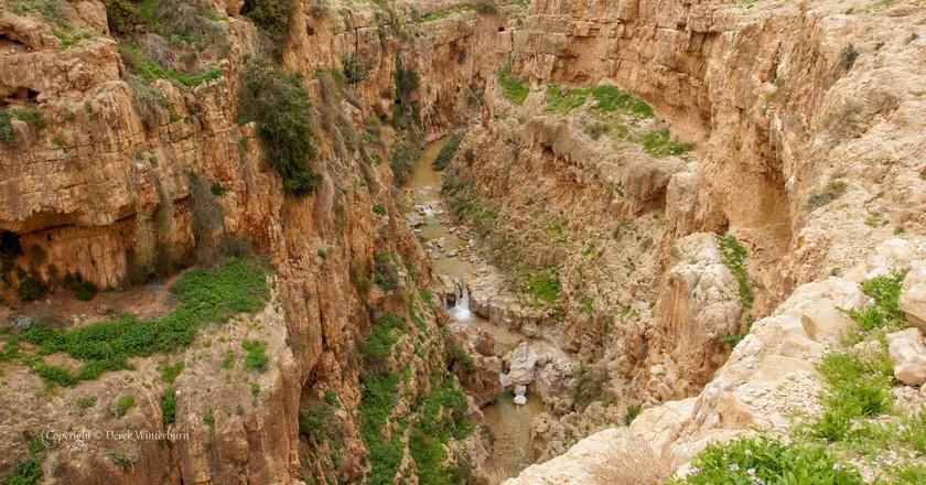 Wadi Qelt 2   © Derek Winterburn/Flickr