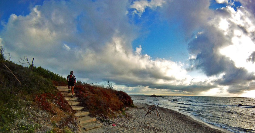 Take a run along the coast in St Tropez   © akunamatata/Flickr