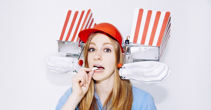 The Popcorn Machine |Courtesy of Simone Giertz