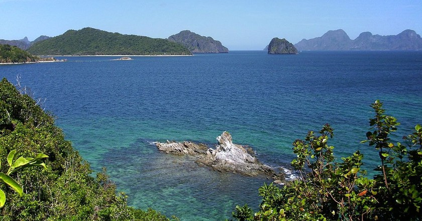 El Nido was used as a location in the Bourne Legacy | ©AxeEffect/ Wikipedia