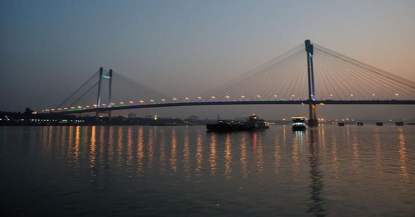 Howrah Bridge | ©Biswarup Ganguly / WikiCommons