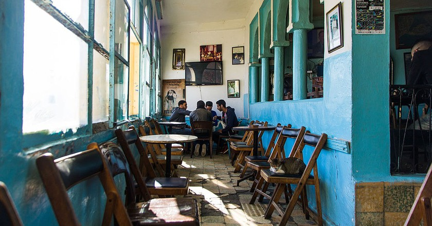 Café Baba Tangier | © cat_collector/WikiCommons
