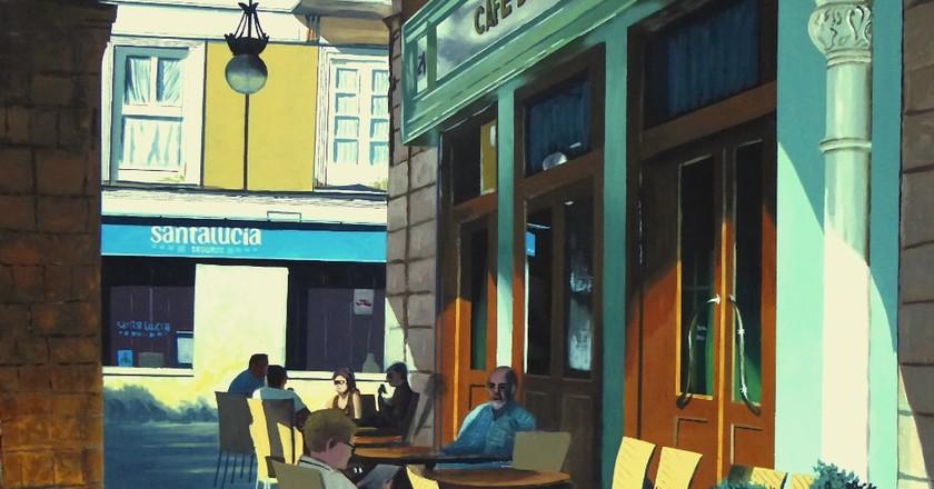 Cafe de Pombo, Santander, Spain | © Jrmuro / Wikimedia Commons