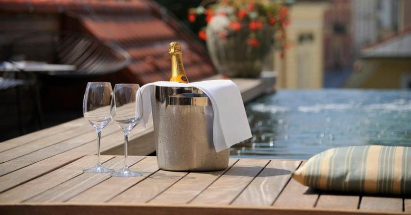 Infinity Pool at Vander Urbani Resort | Courtesy of Vander Urbani Resort