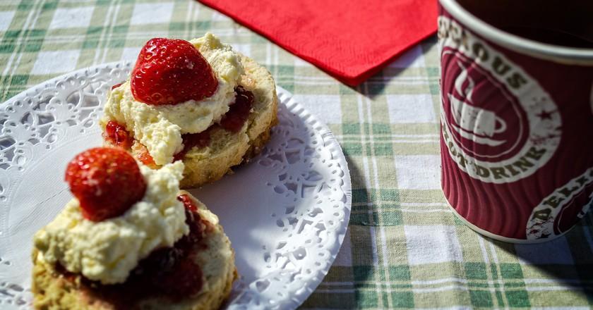 Cornish Cream Tea   © Garry Knight/Flickr