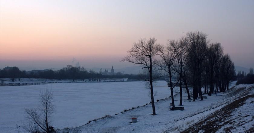 The beautiful frozen Danube  ©Christian Kadluba/Flickr