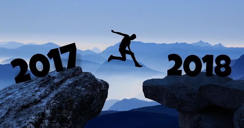 New year 2018   © mohamed1982eg  / Pixabay