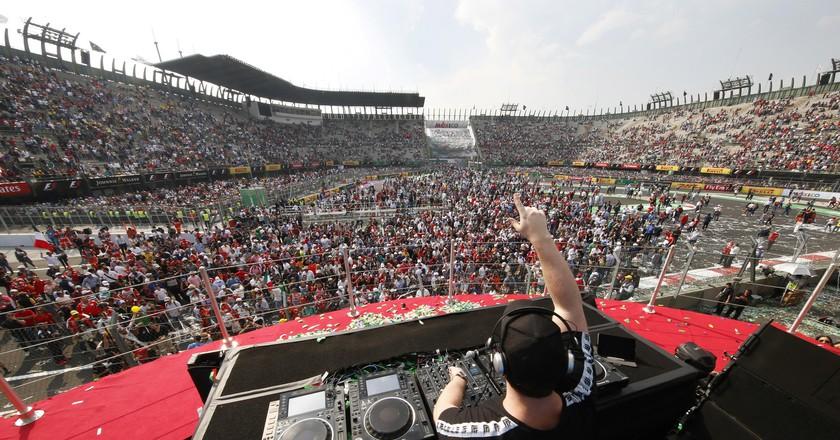 Mexican Grand Prix Hosts Hardwell
