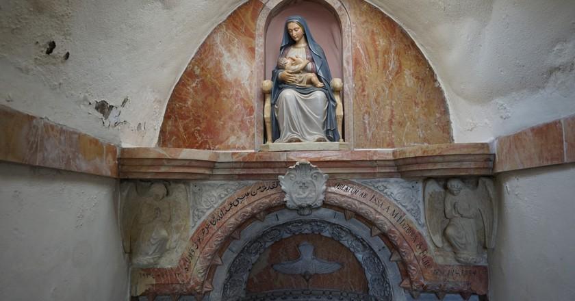 Milk Grotto Bethlehem | Courtesy of Mary Newhauser