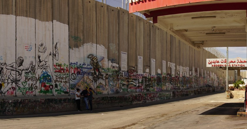 The Wall at Bethlehem | Courtesy of Mary Newhauser/Faith in Faiths