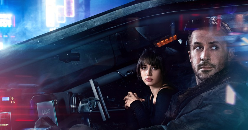 ANA DE ARMAS and RYAN GOSLING in Alcon Entertainment's BLADE RUNNER 2049 in association with Columbia Pictures, domestic distribution by Warner Bros. Pictures and international distribution by Sony Pictures Releasing International.