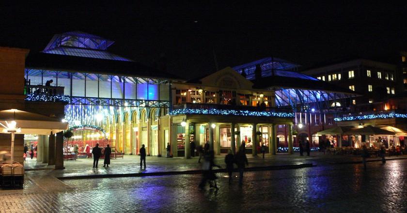 Covent Garden at night | © Heather Cowper