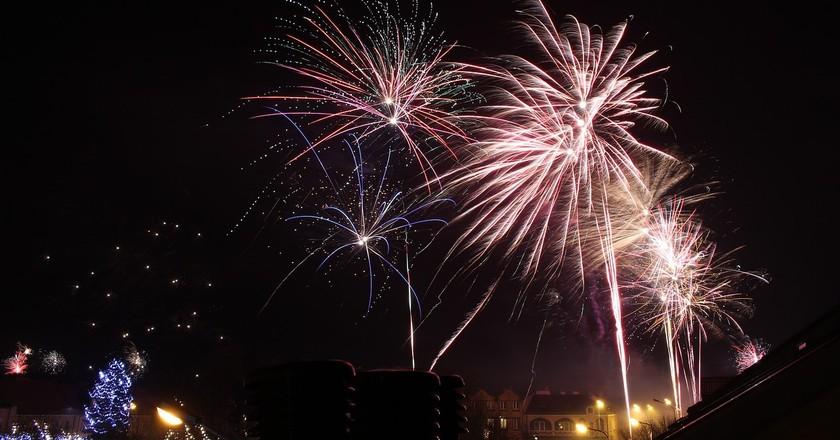 Fireworks   @ Pixabay