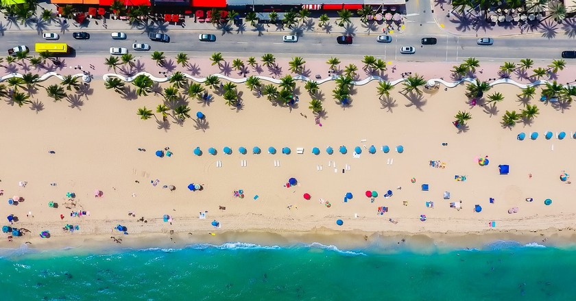 Fort Lauderdale from above