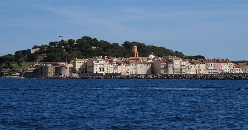 St Tropez as seen from a boat | © MissEJB/Pixabay