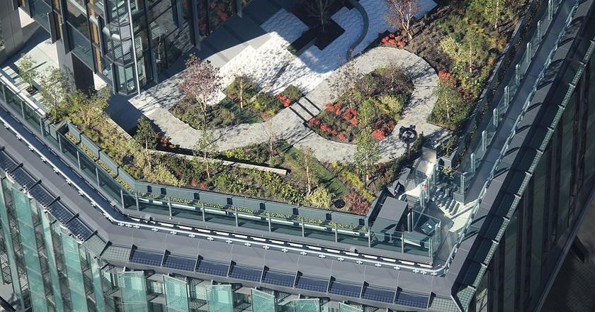 Garden of the Dai-Nagoya Buidling | © Alpsdake / WikiCommons