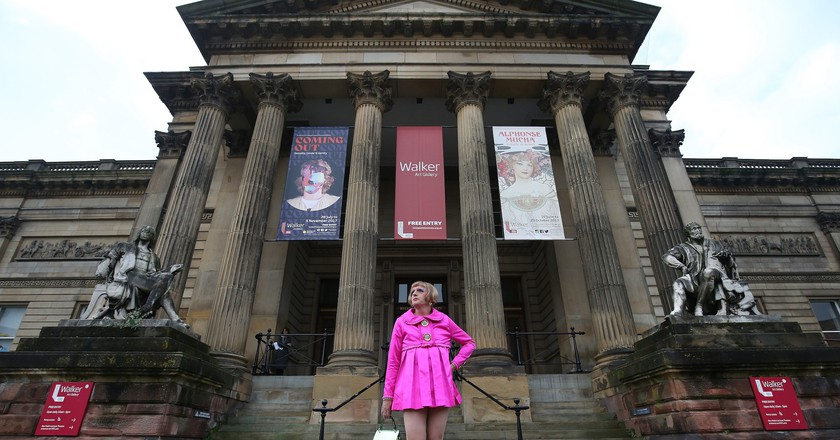 Grayson Perry at Liverpool Walker Art Gallery.  Images by Gareth Jones