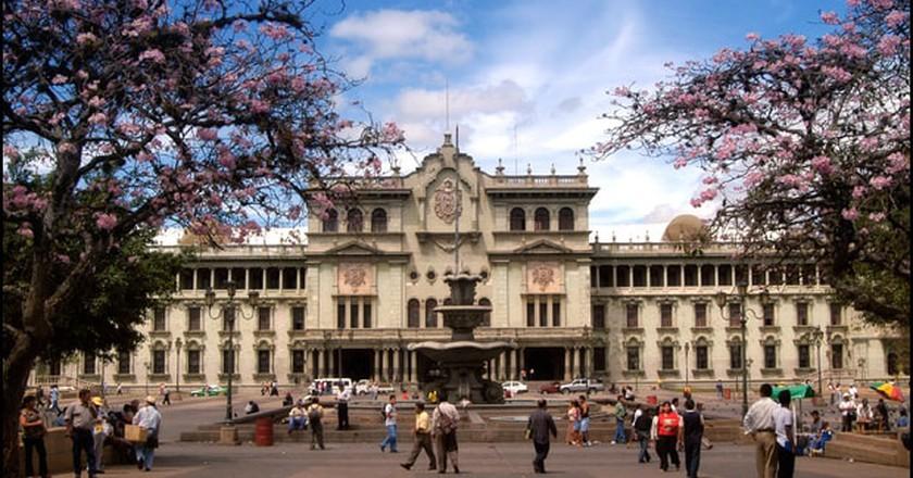 Guatemala City National Palace © Wikimedia Commons
