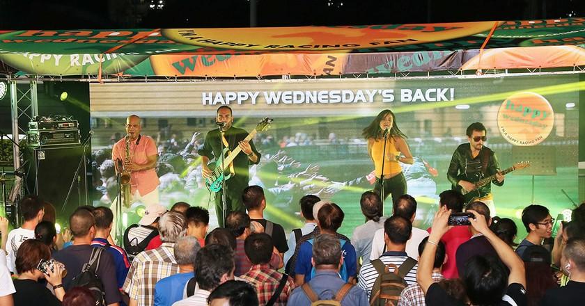 'Happy Wednesday' is a big deal in Hong Kong   Courtesy of Hong Kong Jockey Club