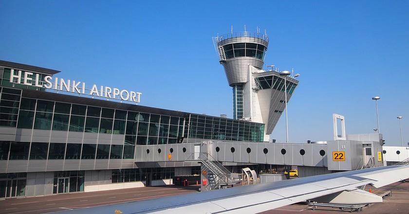 Helsinki airport exterior | © Tiia Monto / WikiCommons