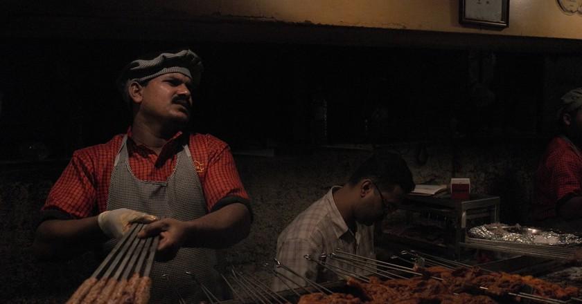 Kebabs at Bademiya, Colaba  Hasib /Flickr