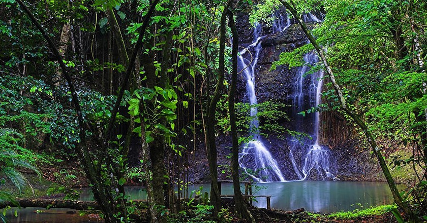 La Tille Waterfall |© Chester Williams/St. Lucia News Online
