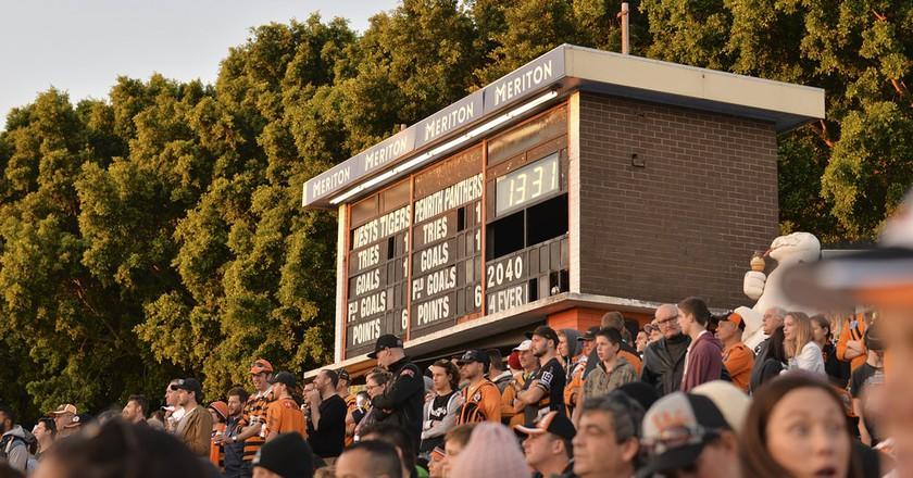 Leichhardt Oval scoreboard | © Scott Brown/Flickr