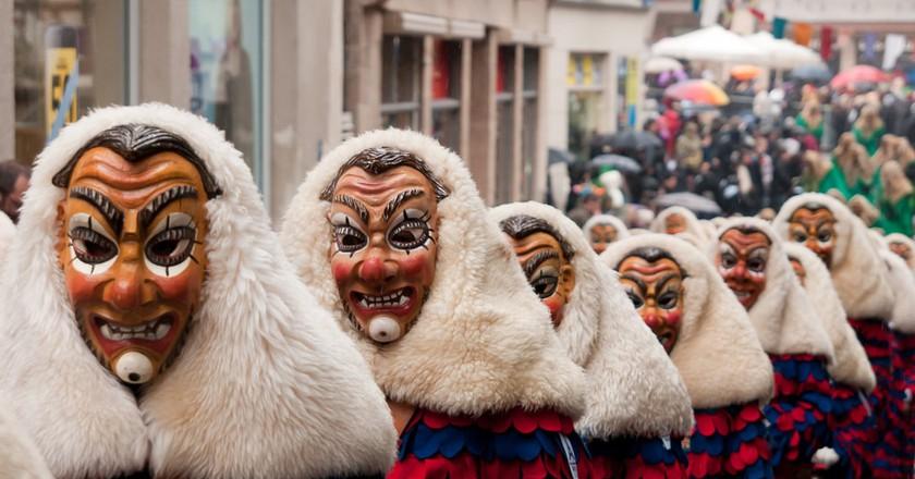 The Schwabian-Alemannic Fastnacht (Carnival) in Tübingen, Germany   ©  LenDog64 / Flickr