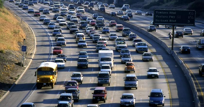 Los Angeles Traffic | © Pixabay