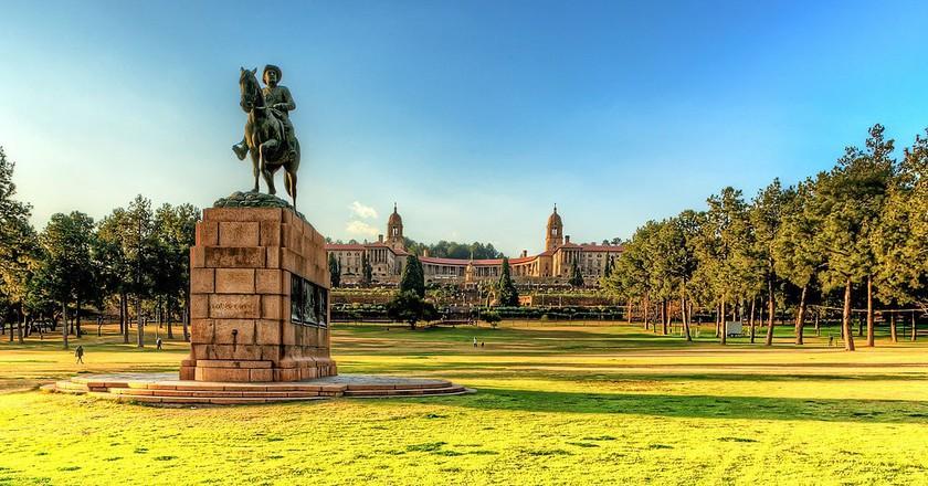 Equestrian statue of Louis Botha   © Robbie Aspeling/Wikimedia Commons