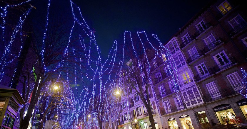 Christmas lights in Bilbao | © Roman San / Flickr