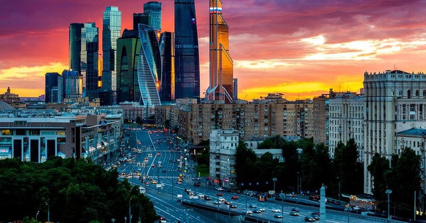 Moscow International Business Center | © Government of Moscow Press Centre / WikiCommons