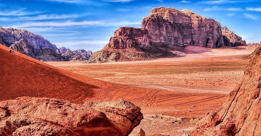 Wadi Rum in Jordan  ©Oliver Clarke/flickr  Flickr