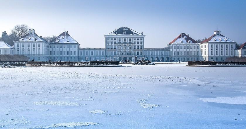 Nymphenburg palace in Winter    © designerpoint / Pixabay