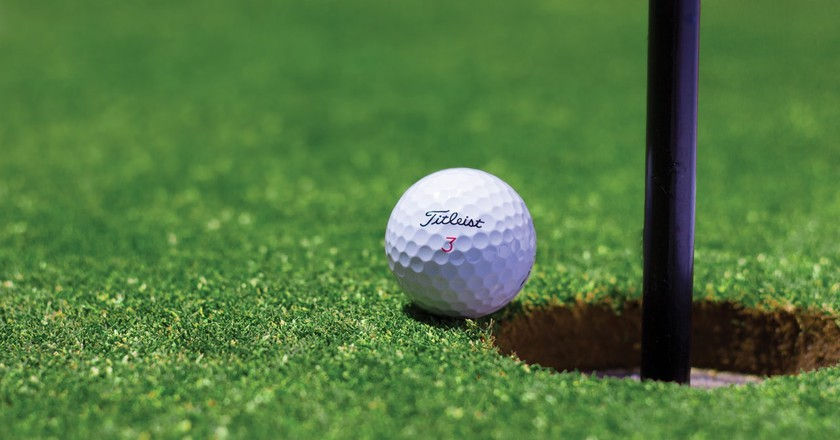 Near Hole-in-One!