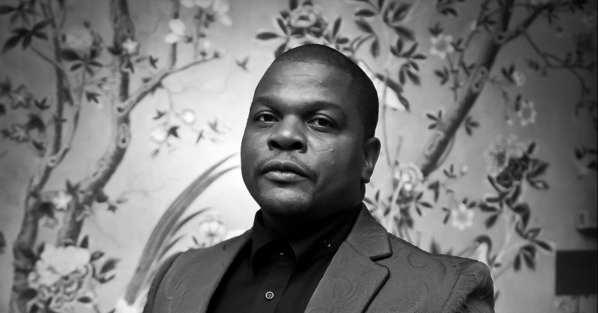 Kehinde Wiley. Photo © Tony Powell. 2015. Art In Embassies Reception. Blair House. January 21, 2015.