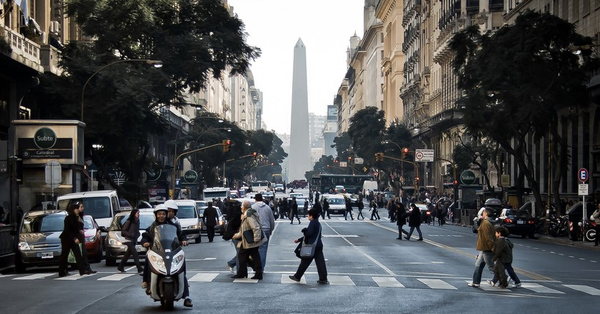 The Argentine capital Buenos Aires | © Hernán Piñera/Flickr