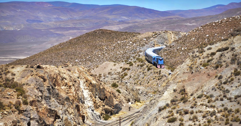 The incredible route of the Train of the Clouds | ©ramiro villa/Tren a las Nubes