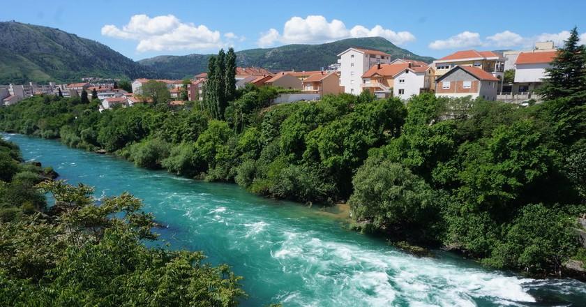 River Neretva Mostar   © Sam Bedford