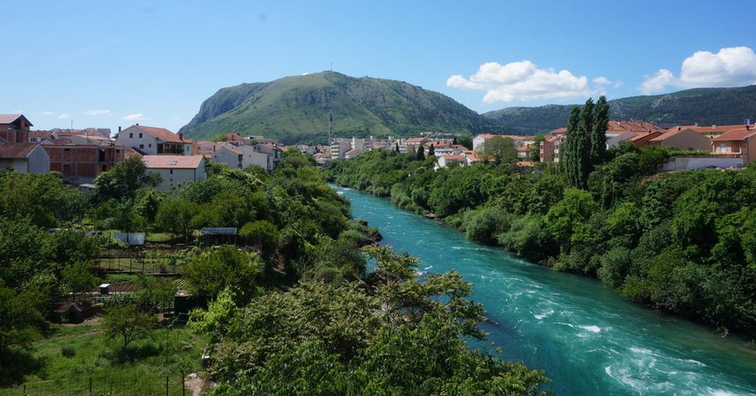 Neretva River, Mostar | © Sam Bedford