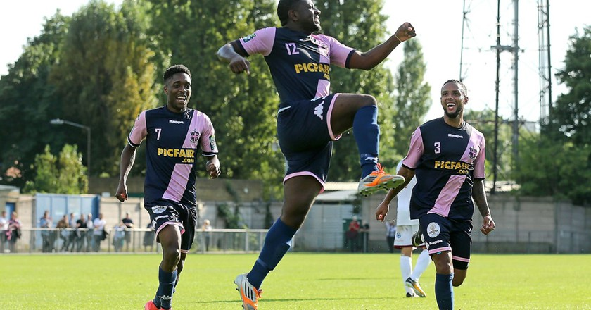 Dulwich Hamlet in action | © TGSPhoto/REX/Shutterstock