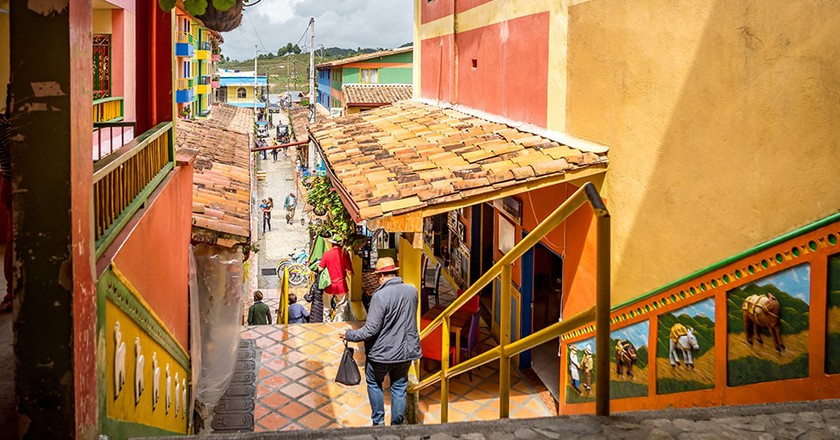 Guatape the most colourful town in Columbia | © Gail Johnson/Shutterstock