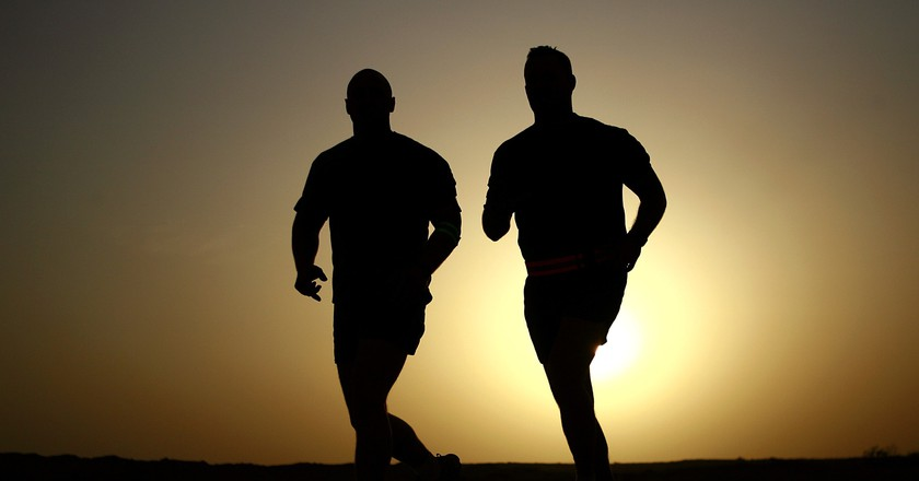 Two joggers | © Pixabay / Pexels
