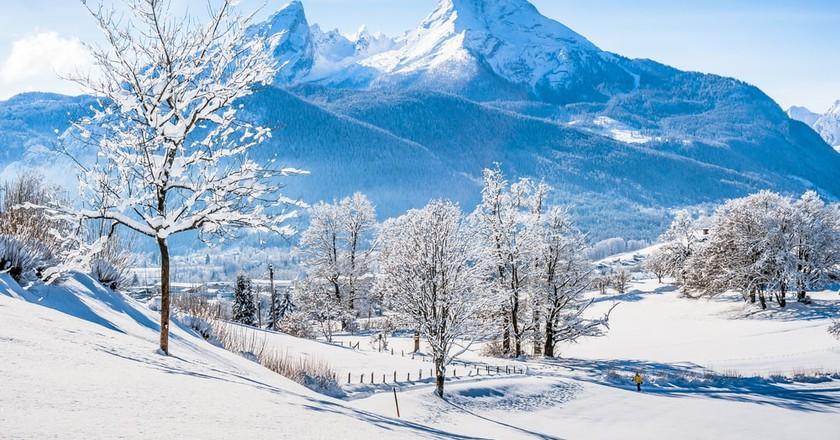View of the Watzmann massif in the National Park Berchtesgadener Land | © canadastock / Shutterstock