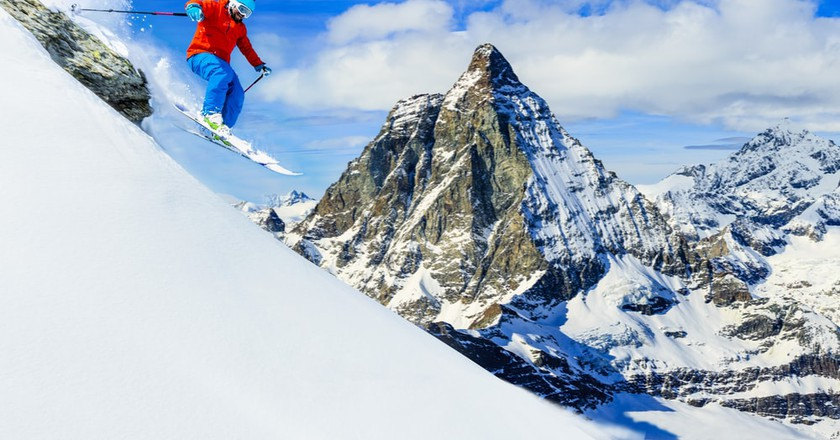 Ski with the best backdrops | © gorillaimages/Shutterstock