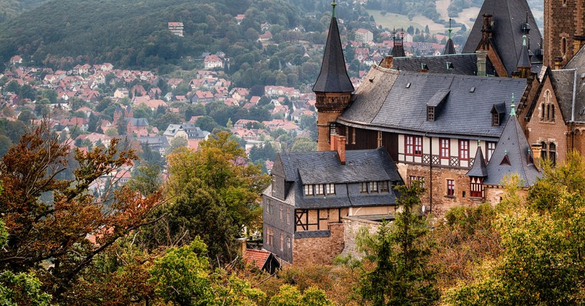 Wernigerode Castle in the Harz mountains, Germany | © Bildagentur Zoonar GmbH/Shutterstock